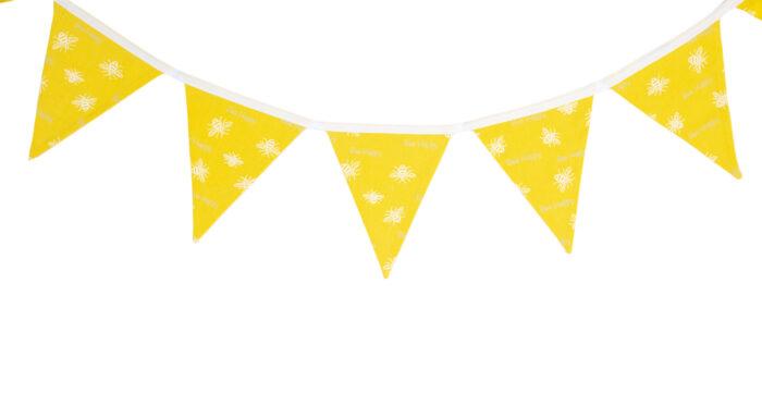 Bee Happy Yellow Bunting