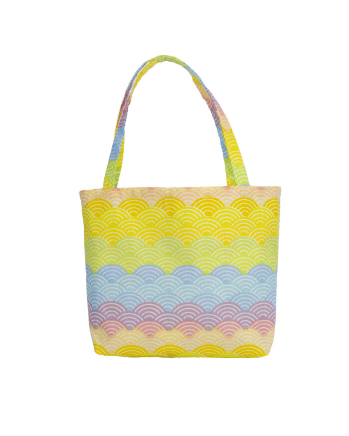 Coloured Rainbow Tote Bag-Childrens.
