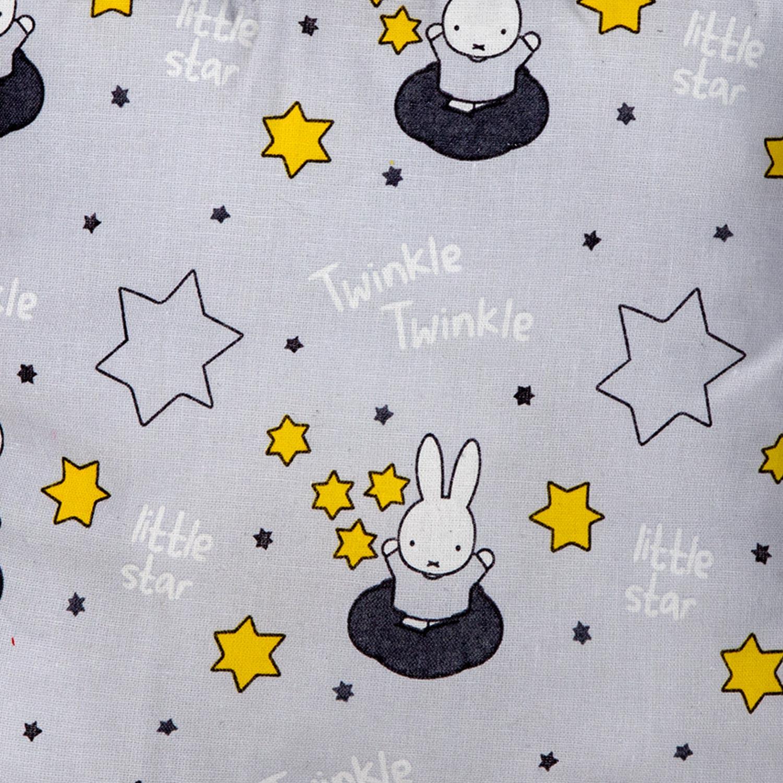 Rabbits Mini Cushion Grey