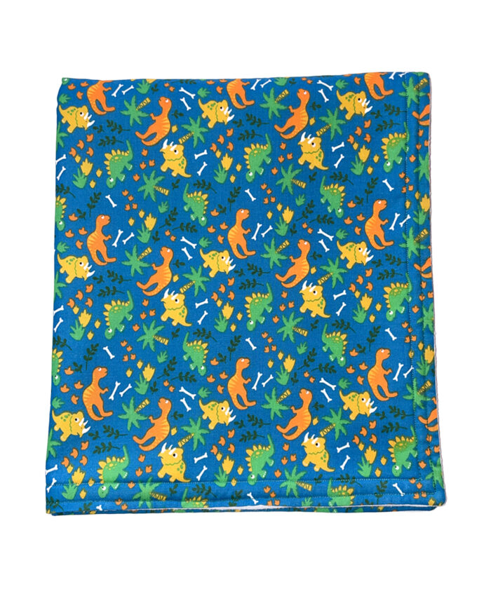 Dinosaur Design Baby Blanket