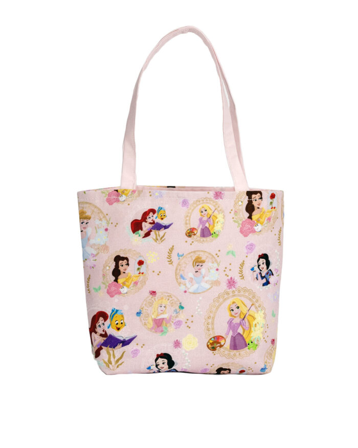 Disney Princess Pink Tote Bag-Childrens