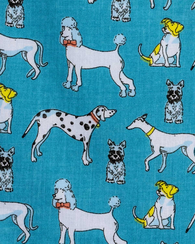 Dog Breeds Blue Tote Bag-Childrens