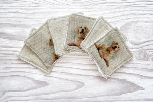 Eco-friendly Face Pads-Golden Labrador