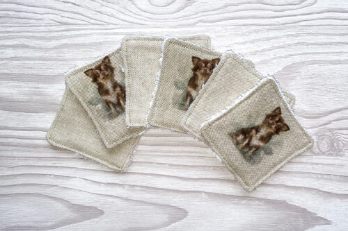 Eco-friendly Face Pads- Chihuahua's