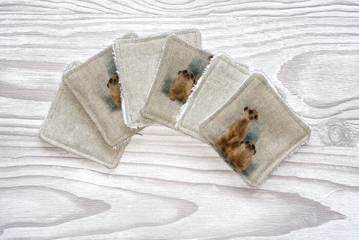 Eco-friendly Face Pads-Meerkats