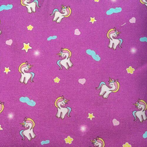 Purple Unicorn Mini Cushion