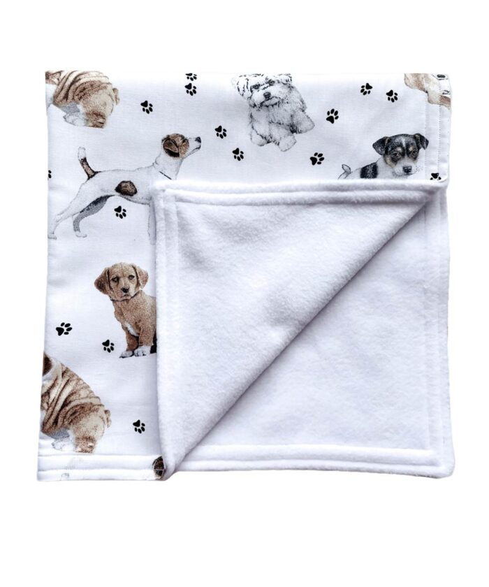 Puppy Dogs Baby Blanket