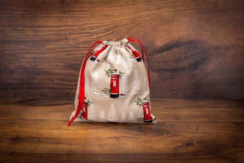 Christmas Gift Bag-Post Box Design