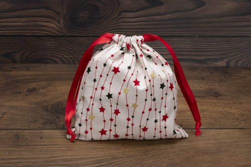 Christmas Red Stars Design
